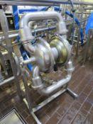 Stainless Steel Frame Mounted Diaphragm Pump 400mm diameter