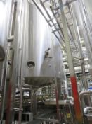 Goavec 15,000 Litre Stainless Steel Tank with Load Cells, Agitation, Level Gauge, Temperature Probe