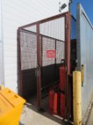 Gas Bottle Storage Cage with Double Doors