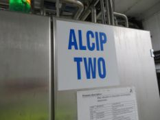 Tetra Alcip 100 CIP Plant (Alcip Two) with small Tank & Heat Exchanger, Balance Tanks, Valves and In