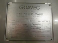 1992 Goavec 10,250 Litre insulated Stainless Steel Tank (BT2)