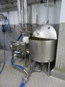 Mix Set C including a 500 Litre Stainless Steel Mixing Tank, Manifold, Pump & Definox Valve
