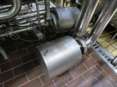 Balance Tank, 3x Pumps, Pressure Vessel, Filter, Valves, Flowmeter and Gauges