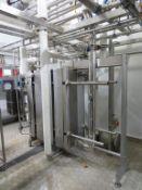 Pasteurisation Plant inc GEA Ecoflex 1140 BC-16 Pasteuriser, Heat Exchanger, Pumps, Valves, Flow Met