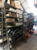 Qty of Assorted Spare Parts to 4 bays