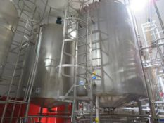 2x Alfa Laval Nevers Stainless Steel Tanks (A1 & A2)