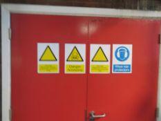 Amonia Refrigeration Plant inc 2x Sabroe 8 Cyclinder Compressors, Baudelot Heat Exchanger, Condense