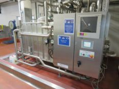 Moody CIP System with ABB Commander 1900 Control Alfa Laval LKH-30-200 150kW Pump