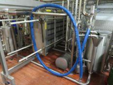 Alfa 4 Pasteuriser Plant Inc. Alfa Laval Pasteuriser, Control Panel etc