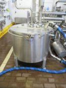 Mix Tank 1- Stainless Steel Mixing Tank c1m x 1.1m