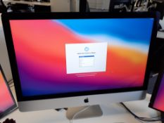 """Apple iMac 27"""" 5K A1419 Computer, 4Ghz, 32Gb, Serial Number DGKRC08XGQ18 (Late 2015) with Keyboard &"""