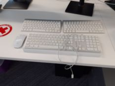 3 Apple Keyboards & Mouse