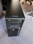 HP Z420 Xeon Workstation 32Gb RAM, Serial Number CZC2401X7M (BTLDNWKS031)