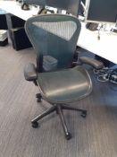 Herman Miller Aeron Multi Swivel Elbow Chair