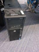 HP Z420 Xeon Workstation 16Gb RAM, SSD, Serial Number CZC3045C8K (BTLDNWKS027)
