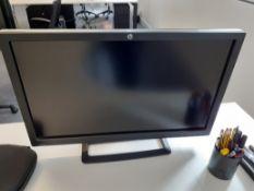 """HP ZR2740W 27"""" Computer & Dell Computer Monitor"""