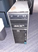 HPZ400 Xeon Workstation 16Gb RAM, SSD, Product ID KK718ET#ABV, Serial Number CZC1307XY7 (