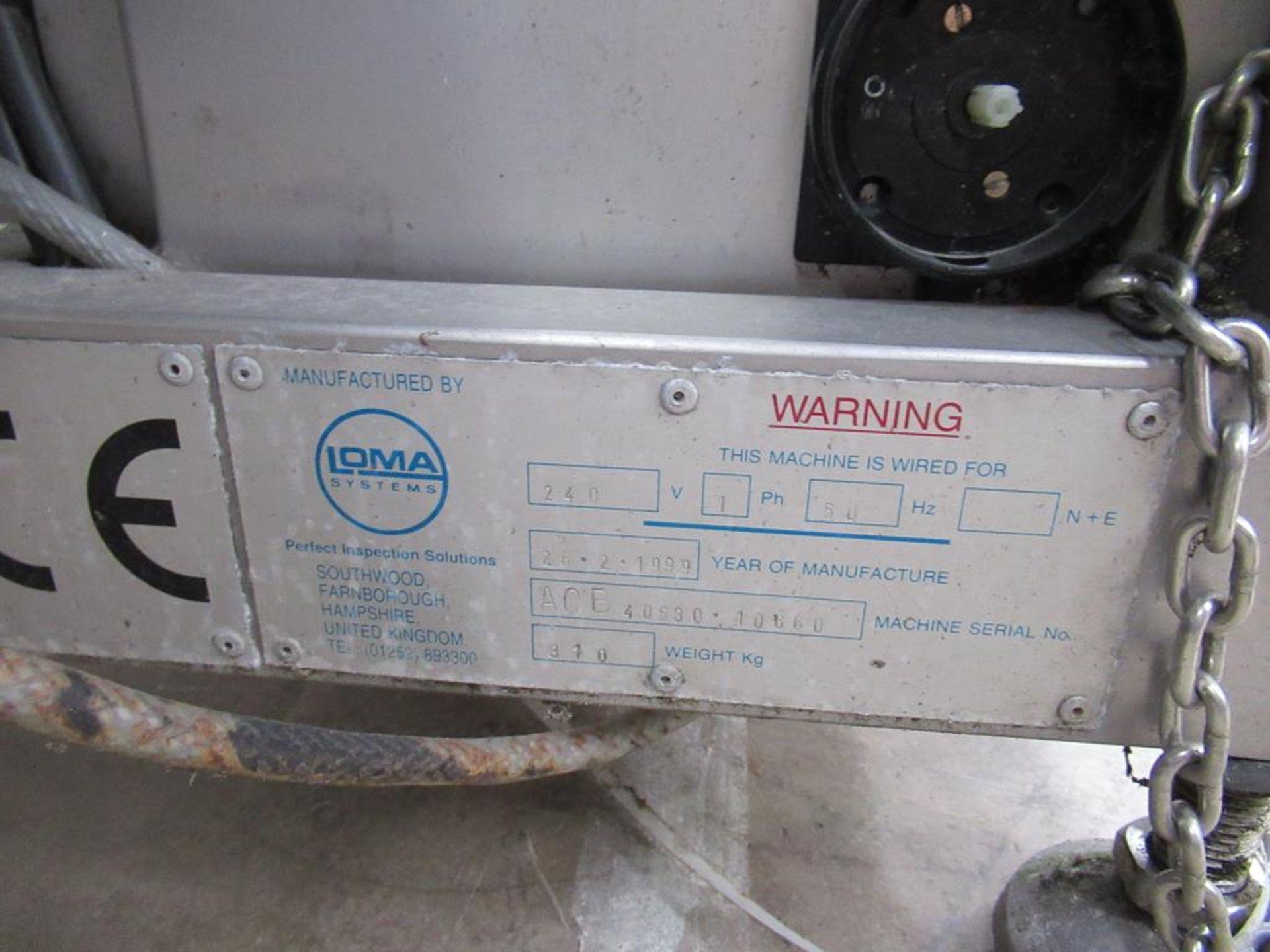 Loma 7000 Metal Detecting Conveyor - Image 7 of 7