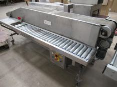 Unbranded Packing Conveyor on Castor Wheels