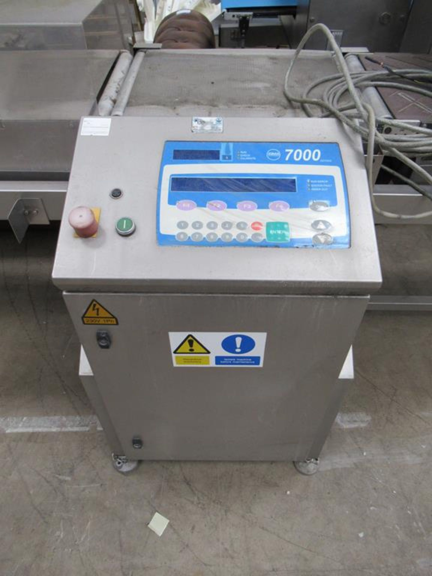 Loma 7000 Metal Detecting Conveyor - Image 2 of 7