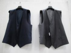 7 x waistcoats