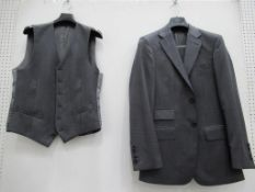 Single breasted three piece suits