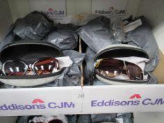 20 Pairs of Various Gucineri Ladies Sunglasses in Zipper Cases