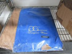 Approx 100pcs Gucineri Cashmere Shawls, Gold and Blue