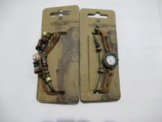 20x Hippie Chic 'Boho' watches and bracelets- unopened, total approx RP £220