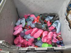 "Large Quantity of ""Croc Style"" Sandals"