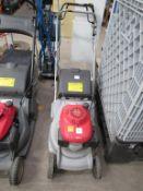 Honda rear roller petrol lawnmower