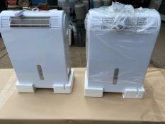 2 x Servcool Dehumidifiers