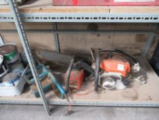 3 x chainsaws (2 x electric, 1 x petrol) (spares or repairs)