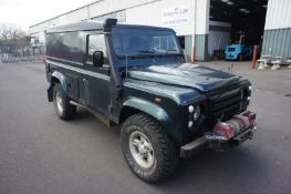 Land Rover Defender 110 Hard Top, 2402cc, 2007, Re
