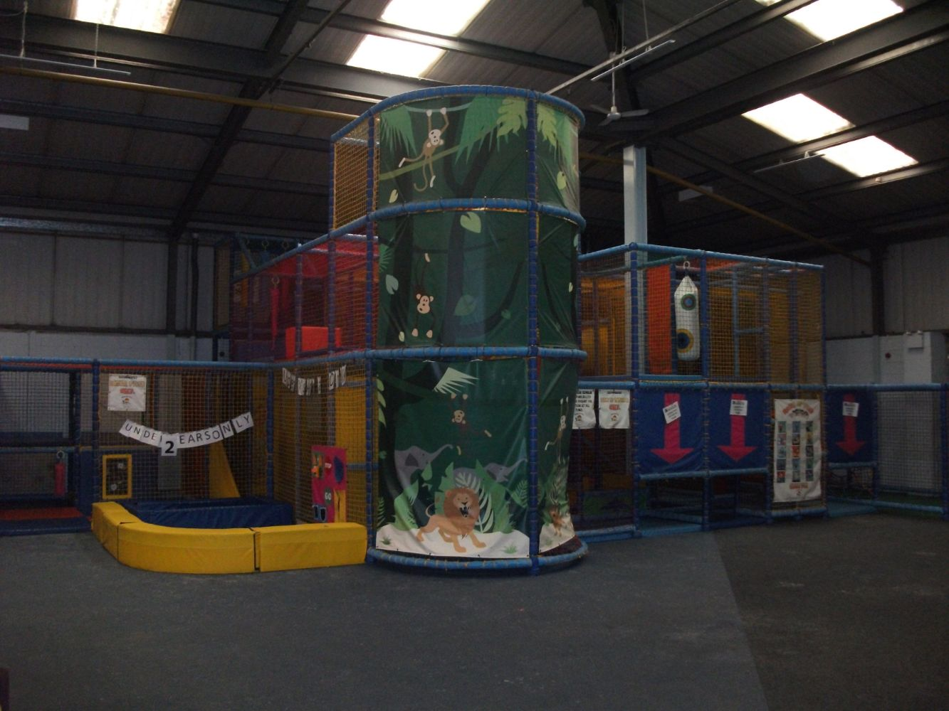 Assets of an Indoor Children's Soft Play Centre