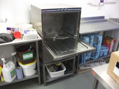 Comenda Commercial Dishwasher with Trays & Stainle