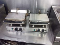 Twin Station Contact Grill