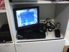 Elorex DV, 8CH with 4 Cameras & LCD Monitor (Inter
