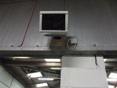 3 x Wall Mounted Electric Fan Heaters