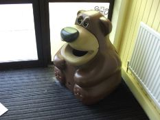 Bear Themed Waste Bin