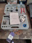 105PC Pipe Bender Plumbers Kit (NOS)