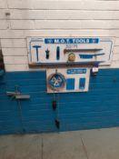 M.O.T Tool Board c/w Tools