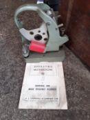 Churchill Brake Efficiency Recorder