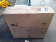 5x One Electrical LED Panel Lights (New)