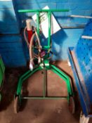 Castrol 205L Trolley with Drum Pump and Dispenser