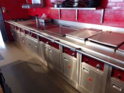 Range of Good Quality Catering Equipment and Restaurant Furnishings (Installed 2017)