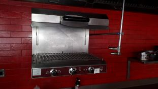 Charvet rise and fall stainless steel electric Salamander Grill