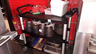 Three tier Trolley (contents excluded)