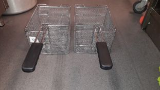 2 unused Charvet Deep Fat Fryer Baskets