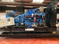 MTU 16V2000 800KVA Open Generator